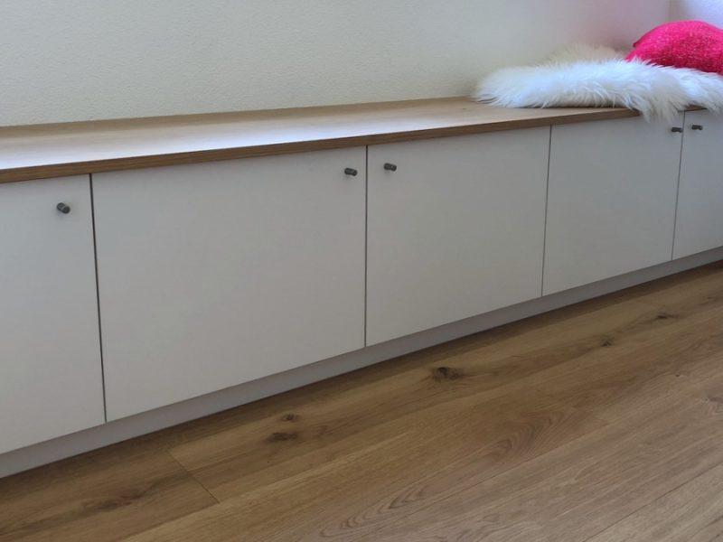 Ein Sideboard von Späni AG Schreinerei und Innenausbau, installiert in Seewen